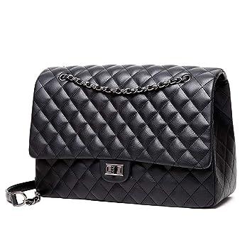 Hohe Qualität PU Lingge Tasche Schulter diagonal Mode lässig