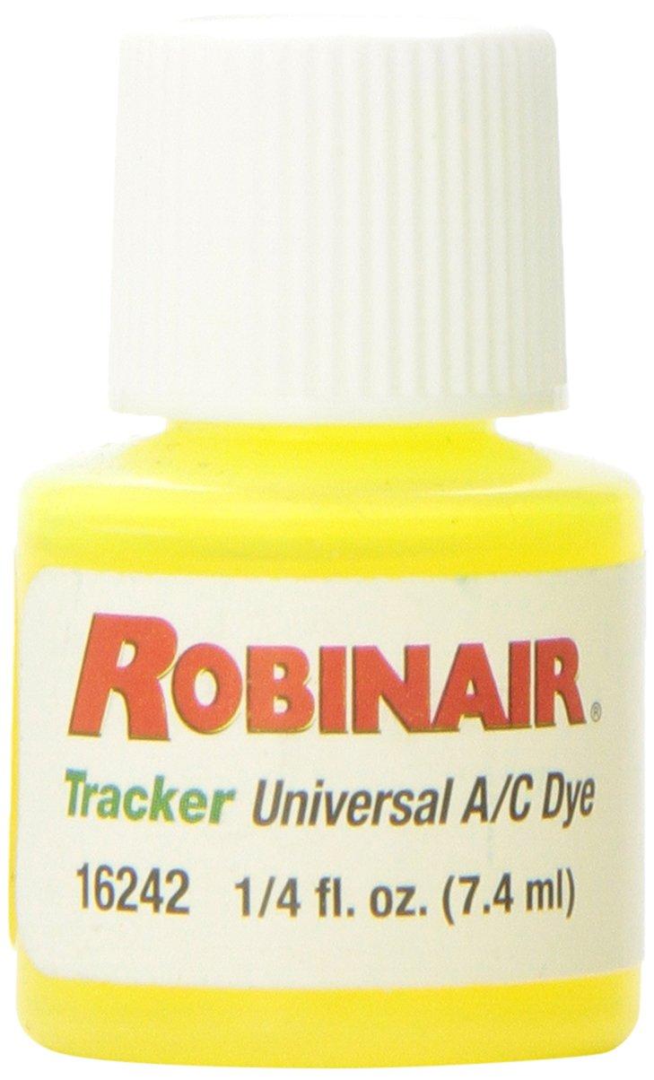 Robinair (16242 Tracker Universal A/C Fluorescent Dye - Twelve 1/4 oz. Bottles, 12 Applications