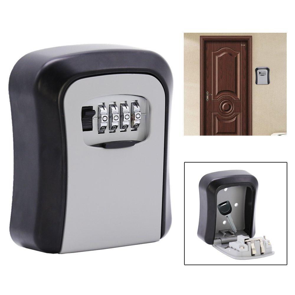 HJ® Cassaforte Chiavi Cassaforte per chiavi Portachiavi Safe uebergabe Safe Cassetta Portachiavi con lucchetto lock hejun