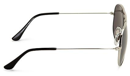 5ebe461153e58a Sinner Amoer Aviator Sunglasses Silver One Size  Amazon.co.uk  Clothing