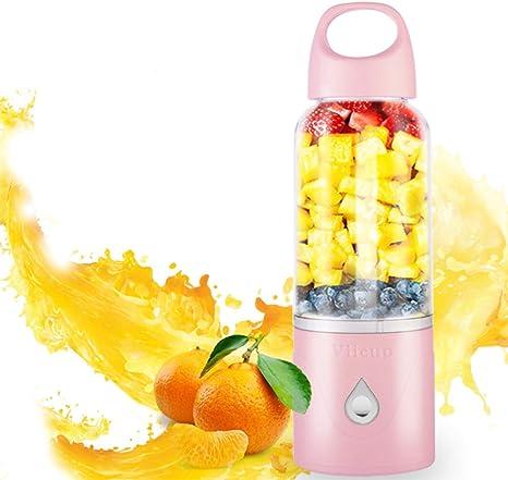 Licuadora para Fruta, licuadora portátil USB Juicer Blender 500 ml ...