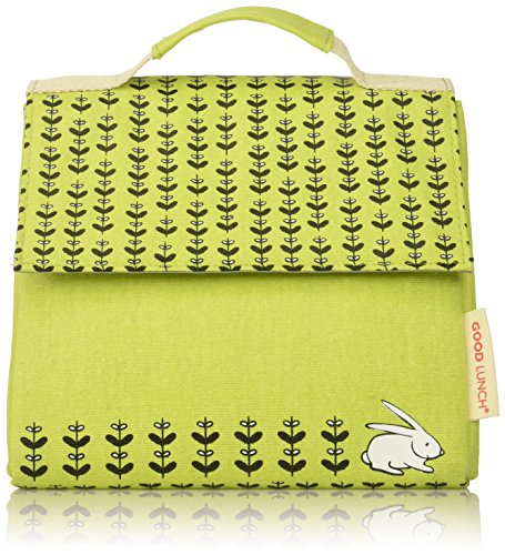 SugarBooger Good Lunch Sack, Meadow Bunny Meadow Lunch Box