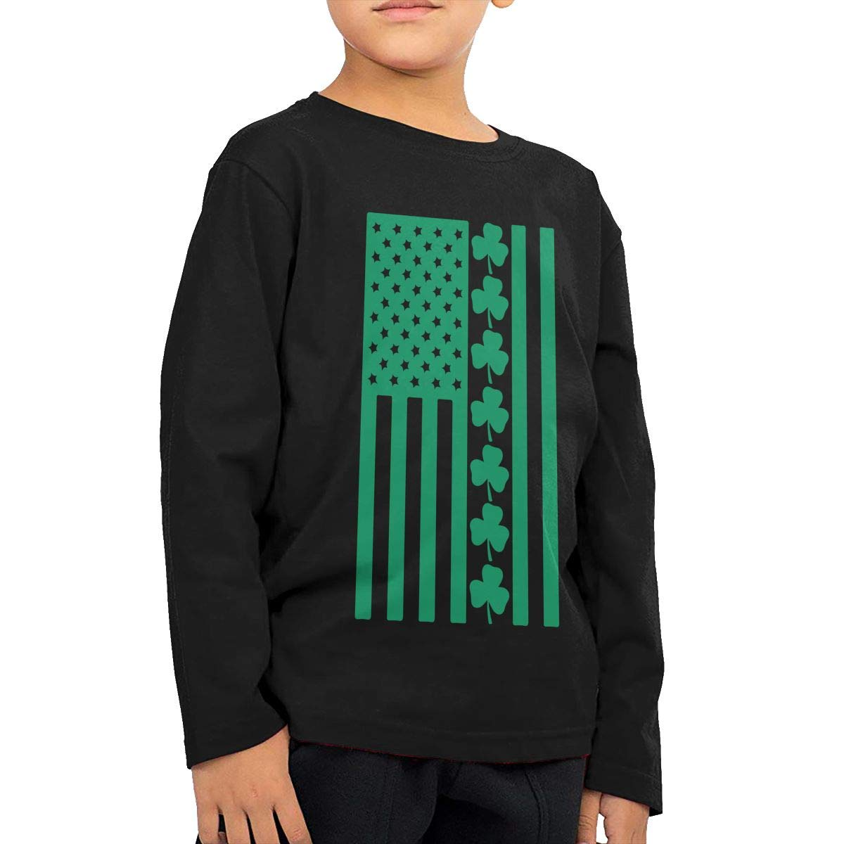 CERTONGCXTS Baby Boys Kids St.Patrick s Day ComfortSoft Long Sleeve T-Shirt