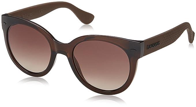 Amazon.com  Havaianas Women s Noronha m Round Sunglasses, Brown, 52 ... 1ef4c68b3d88