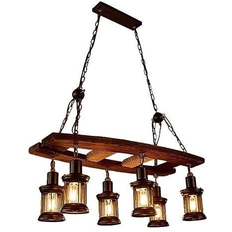 Estilo Vintage Lámpara de Techo Estilo Industrial Americano ...