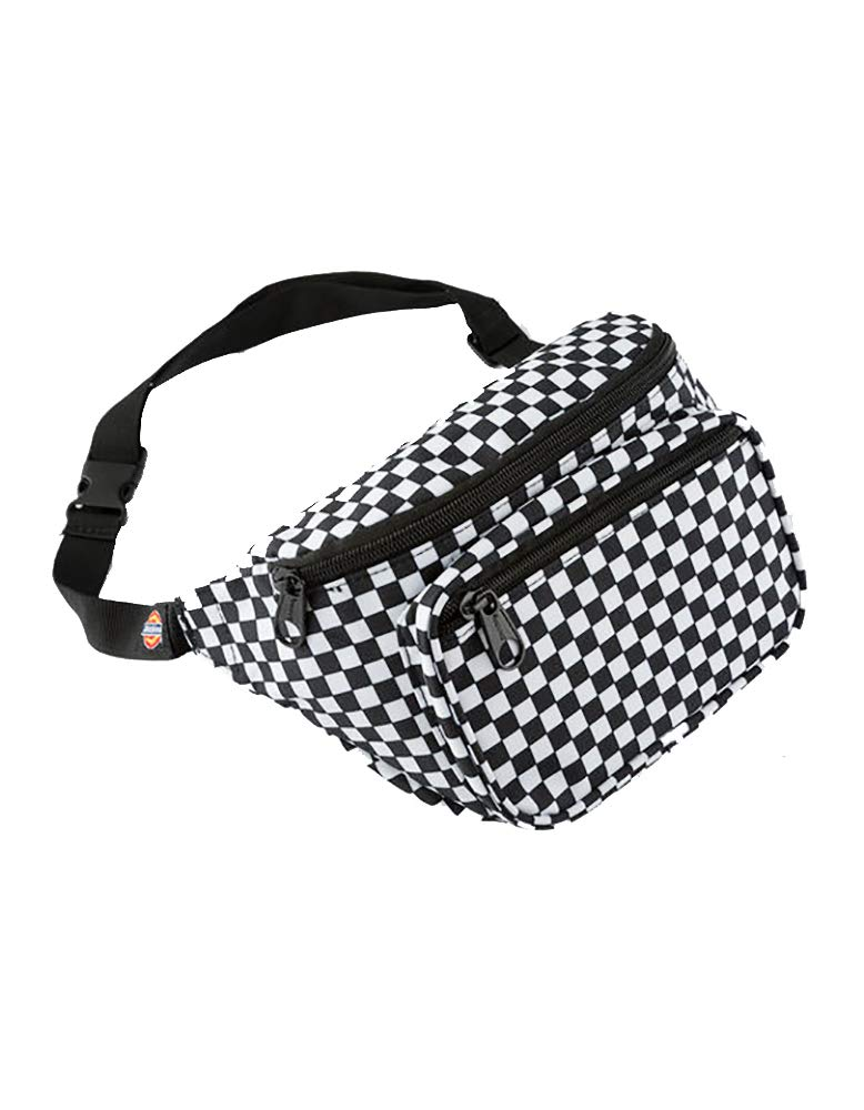 Dickies Hip Sack (Black/White, One_Size)