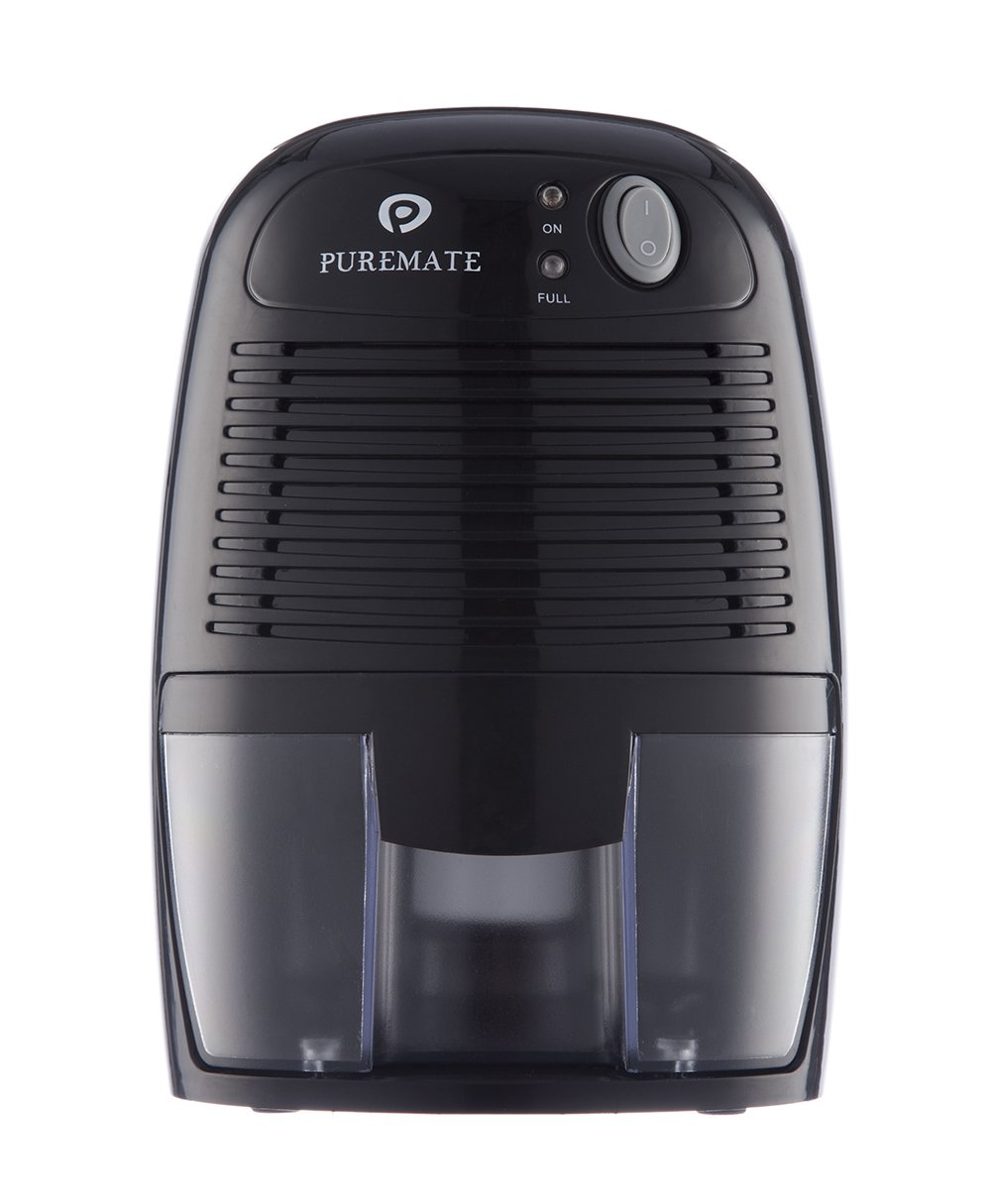 PureMate® 500ml Compact and Portable Mini Air Dehumidifier for Damp, Mould, Condensation and Moisture in Home, Bedroom, Kitchen, Bedroom, Caravan, Office, Garage