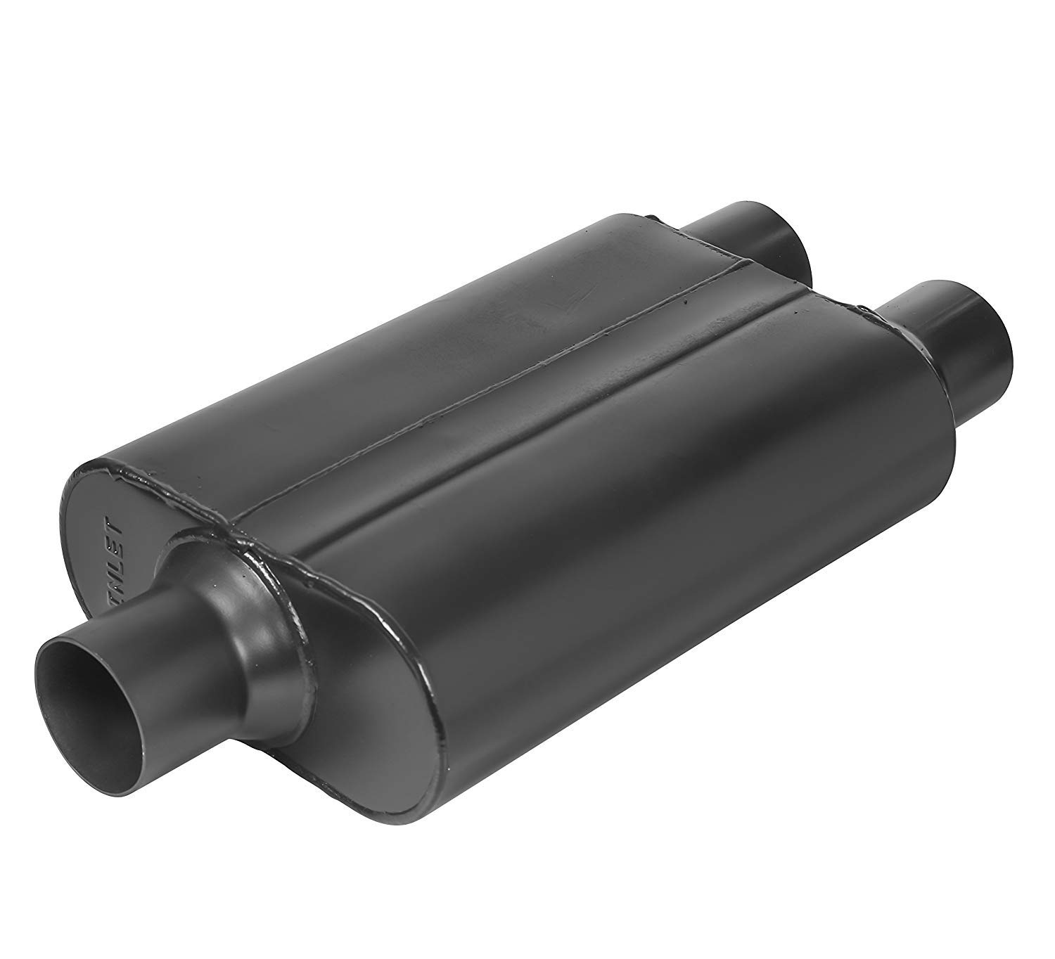 3 Center In 2.5 Dual Out TOTALFLOW 15402 Two-Chamber Universal Muffler