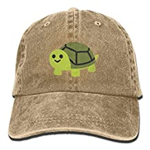 EMOJI TURTLE Mens&womens Vintage Style Comfortable Sandwich Cap Baseball Cap
