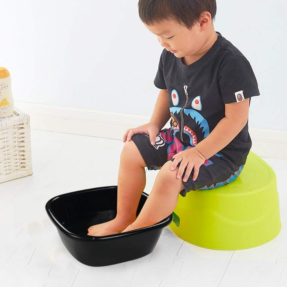 Plastic Washing Bowl Pack of 4 30.5 x 30.5 x 11 cm Lesbye Small Washing Up Bowl