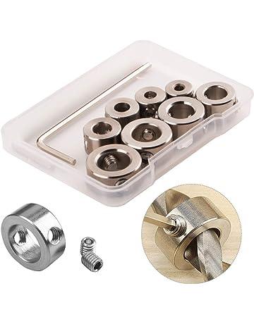 Limitador de posici/ón de la canaleta para trabajo en madera modelo 75 Tope de ingletes con ranura en T manual Loopunk Tope de la gu/ía de ingletes con ranura en T