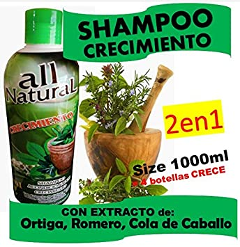 Amazon.com: CRECIMIENTO Shampoo (Cre-C) 1000ml: Health ...