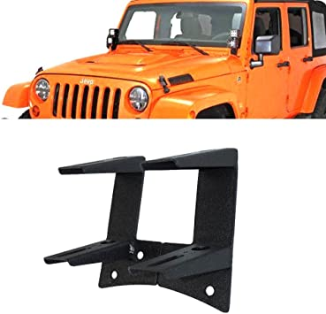 Hood Hinge Set of 2 Compatible with JEEP WRANGLER Jk 2007-2016 Support Right Side and Left Side