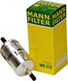 Mann-Filter WK512 Filtro Combustible