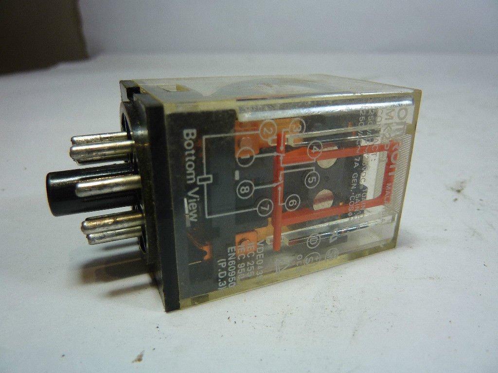 Omron MK2P-I-120VAC Relay 10Amp 250V 120VAC
