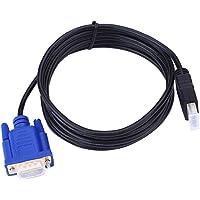 Cabo 1080p HD HDMI macho para VGA de 1,8 m