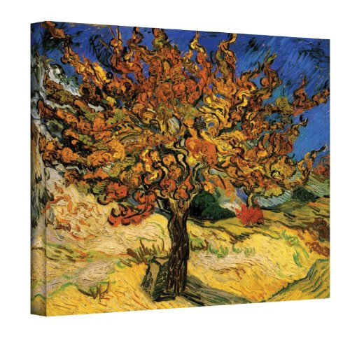 Art Wall 'Mulberry Tree' by Vincent Van Gogh Gallery Wrapped Canvas Art, 20 x 24