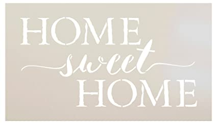 picture about Printable Word Stencils named Dwelling Lovable Residence Term Stencil through StudioR12 Lovely Rustic