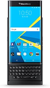Blackberry PRIV Factory Unlocked GSM Android OS Security Phone with Slide-out Physical Keyboard and 18MP Camera - International Version (Black)