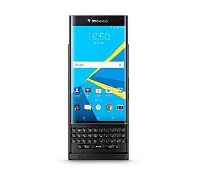 BlackBerry PRIV (QWERTZ Keypad) STV100-4 32GB Factory Unlocked 4G  Smartphone (Black)