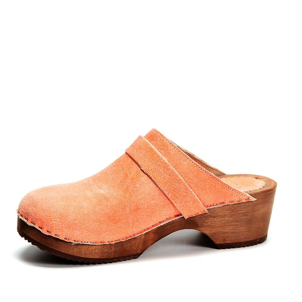 prezzo ridotto presa all'ingrosso super carino Scarpe da donna Scarpe XUZ Zoccoli Donna Arancione Arancione meko ...