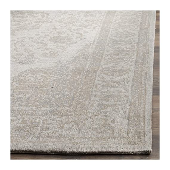 Safavieh Classic Vintage Collection CLV121A Beige Cotton Area Rug (9' x 12') - Stunning cotton fibers make this rug soft and luxurious to the touch The power loomed construction adds durability to this rug, ensuring it will be a favorite for many years This traditional, vintage rug will give your room an elegant accent - living-room-soft-furnishings, living-room, area-rugs - 61tp3HO8ykL. SS570  -