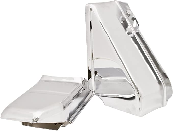 6 inch Passenger side WITH install kit 100W Halogen 2008 Peterbilt CONVENTIONAL-SIDE ROOF Side Roof mount spotlight -Chrome