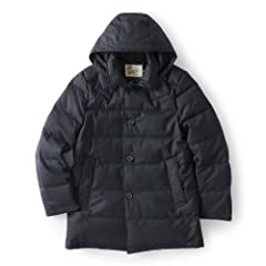 Derby Hood Down G162APDCO0041DX: Navy
