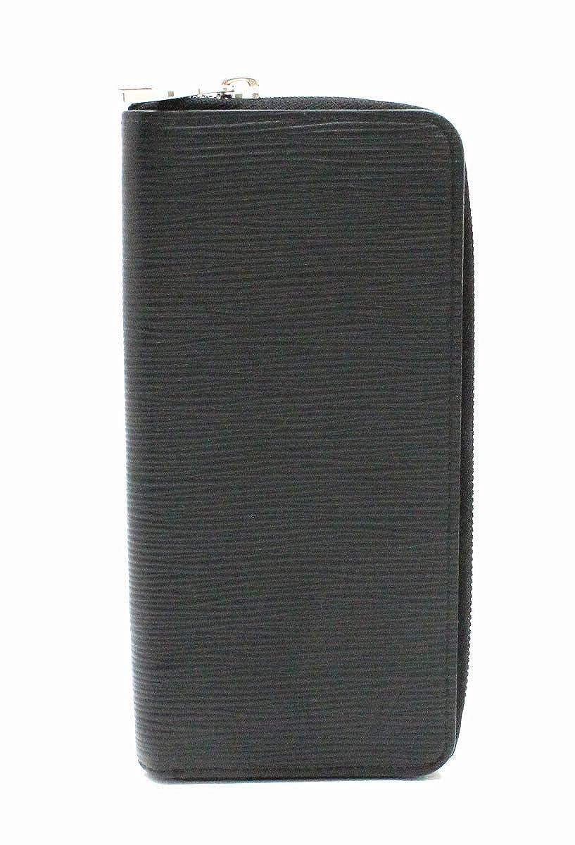 [ルイ ヴィトン] LOUIS VUITTON エピ ジッピーウォレット ヴェルティカル ラウンドファスナー レザー ノワール 黒 ブラック 長財布 新型 M60965 [中古] B07H7WTLQD