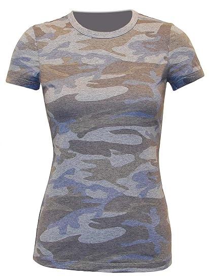 693f2c2f97af1 Kavio Junior Heather Camouflage Short Sleeve Silicone Wash at Amazon ...