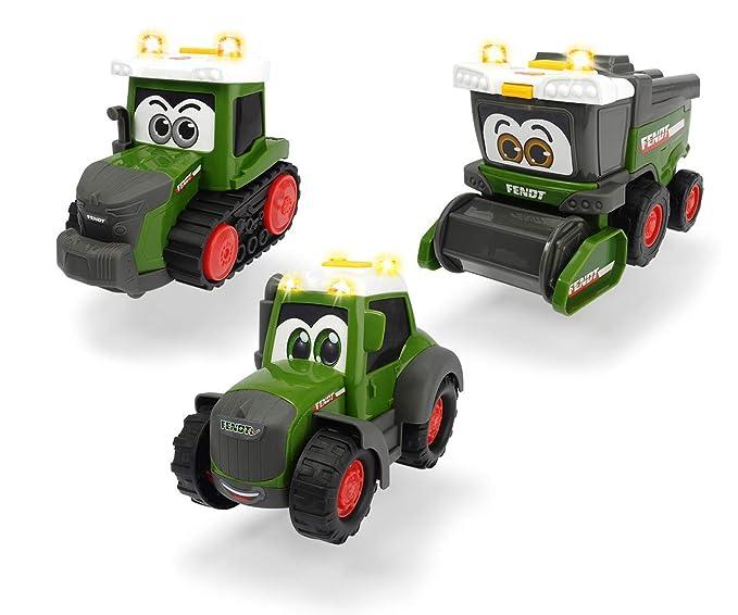 Dickie Toys 203812005 Happy Fendt Team - Coches de Juguete ...