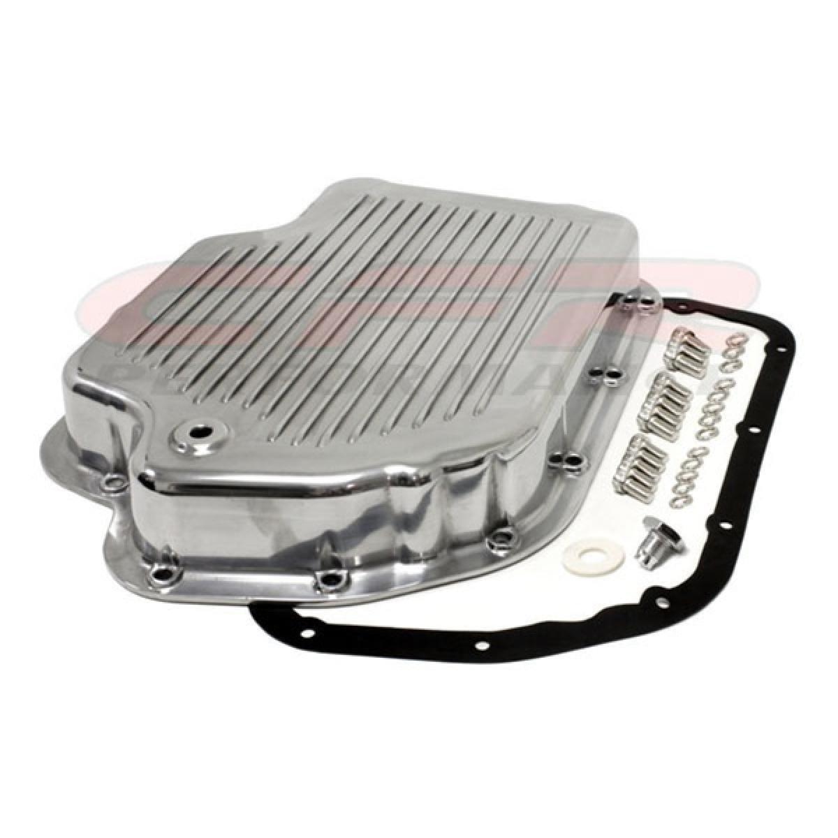 Chevy//GM Turbo TH-400 Aluminum Transmission Pan Kit Polished