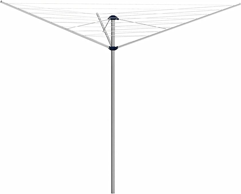 gimi Garden Steel 30 Tendedero de jardín de Acero, 30 m de Longitud de tendido: Amazon.es: Hogar