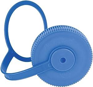 Nalgene Blue Wide Mouth Loop Top Lid Bottle Cap