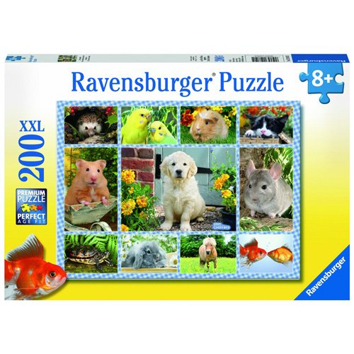 (Ravensburger My First Pet 100 Piece Jigsaw Puzzle for Kids - Every Piece is Unique, Pieces Fit Together Perfectly)