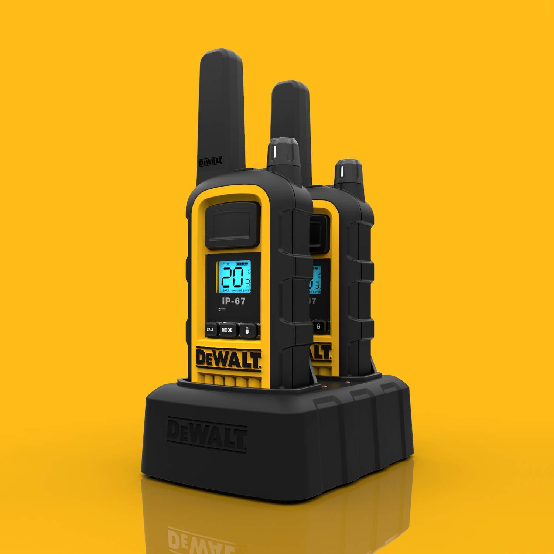 DeWALT DXFRS800 2W Walkie Talkies Heavy Duty Business Two-Way Radios (Pair) by DEWALT (Image #11)