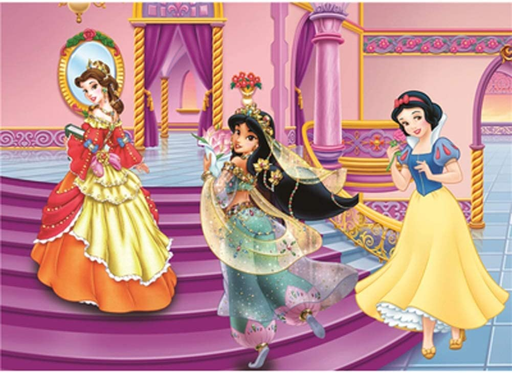 VAST 300/500/1000 Piezas for Juegos de Puzzles En Familia Juguete del Juego, Animado de Dibujos Animados de Disney Princesa de Madera Rompecabezas Inicio Decoración de Pared 505: Amazon.es: Juguetes y juegos