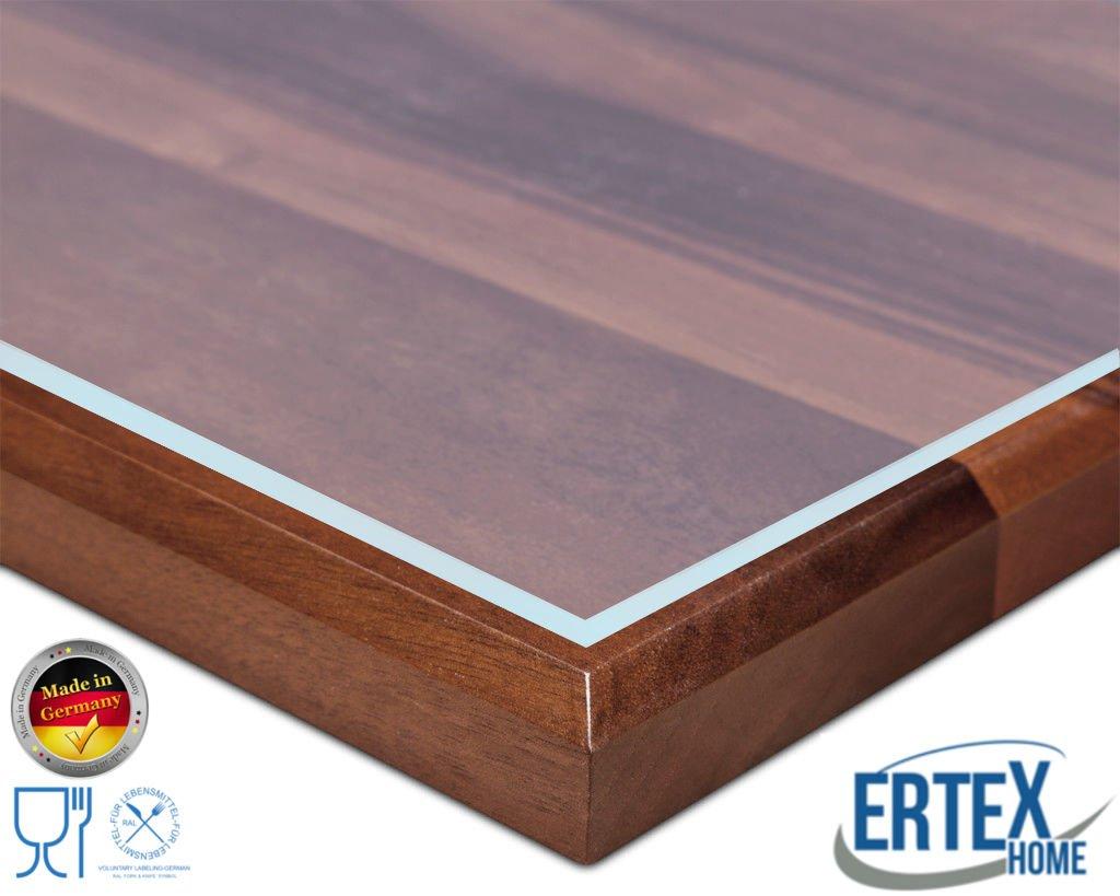 Ertex Tischdecke Tischfolie Schutzfolie Tischschutz Folie Matt//Carbon Folie 2,5 mm 1A Qualit/ät geeignet f/ür den Kontakt mit Lebensmitteln 80 x 100 cm