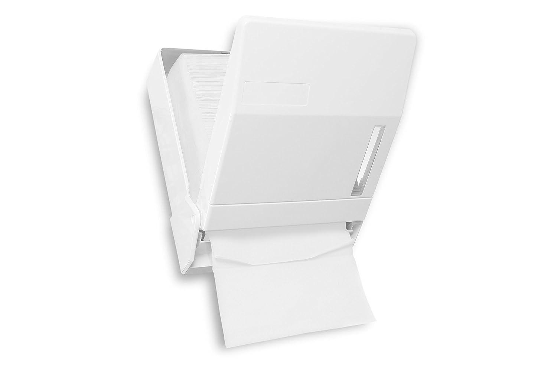 2 couches tr/ès blanc 24 x 21,5 cm 4000 pcs Funny Papier Essuie-Mains en ZZ-pliage