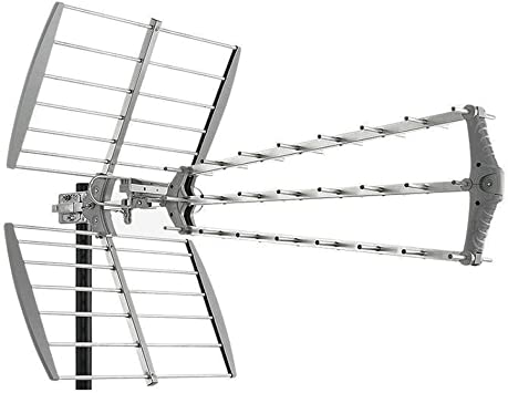 Antena TDT LTE 4G (C21-60) 15dB 27 Elementos Fuba DAT912 ...