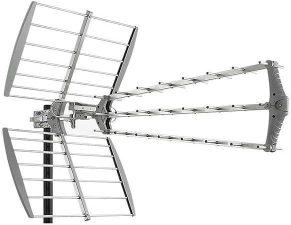 Antena TDT LTE 4G (C21-60) 15dB 27 Elementos Fuba ...