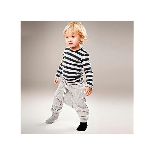 94d65b1b871e9 Amazon.com  Highpot Baby(2~7T) Boy Simple Stripe Blouse+Hip-hop ...