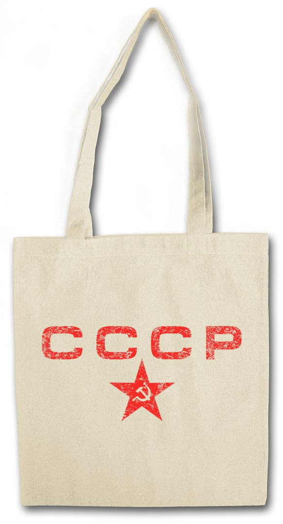 Urban Backwoods CCCP Red Star R/éutilisable Pochette Sac De Courses en Cotong Soviet Union Socialisme Communisme UDSSR Army Socialism Union sovi/étique Communism DDR Putin