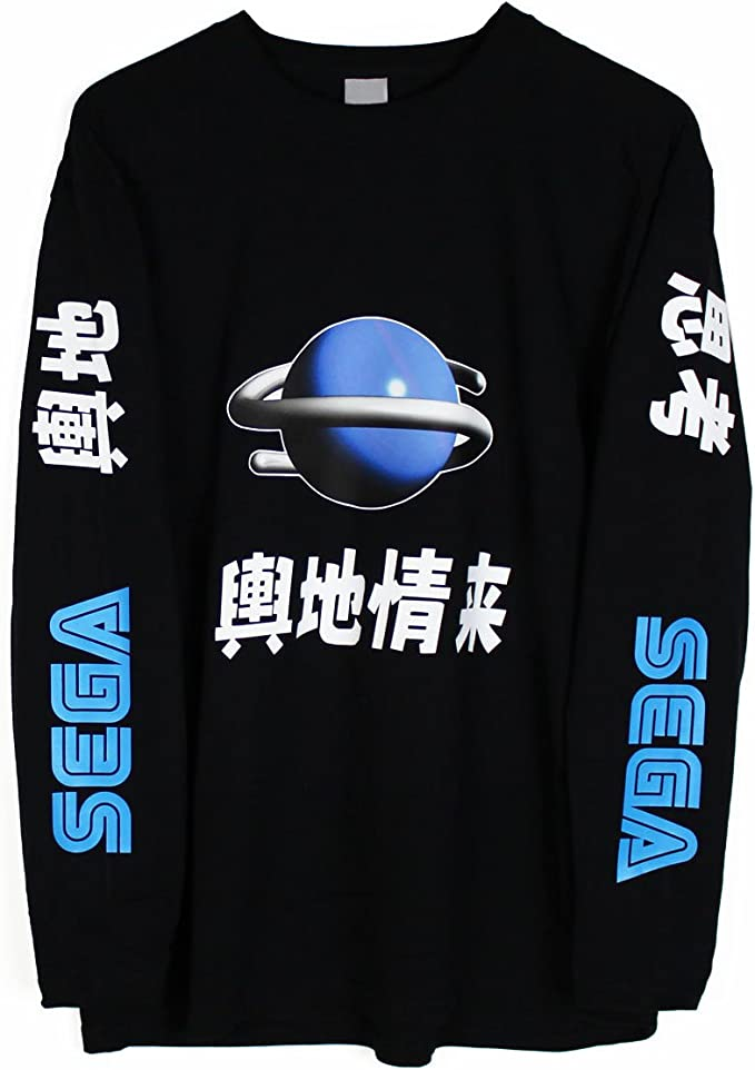 Sega Saturn Japanese Long Sleeve T-Shirt