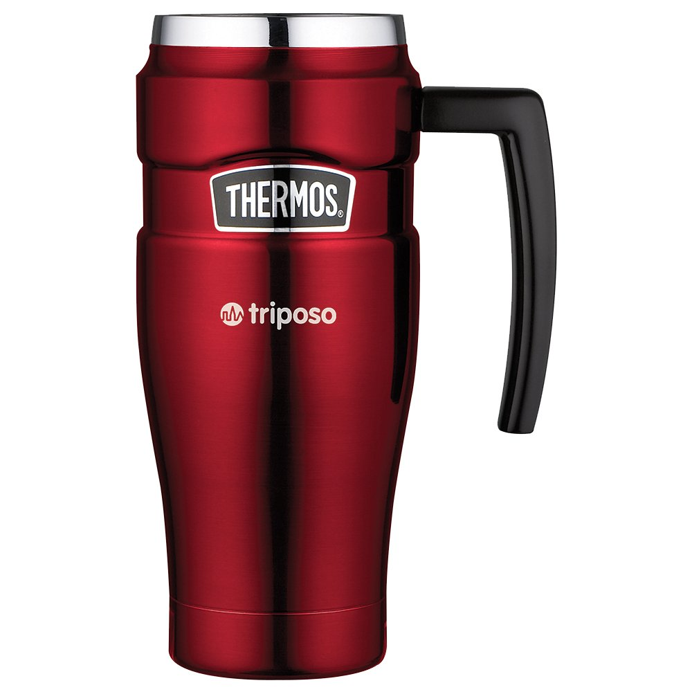 Thermos Stainless King Travel Mug - 27 Quantity - $35.90 Each - BRANDED / SCREEN PRINTED with YOUR LOGO / CUSTOMIZED