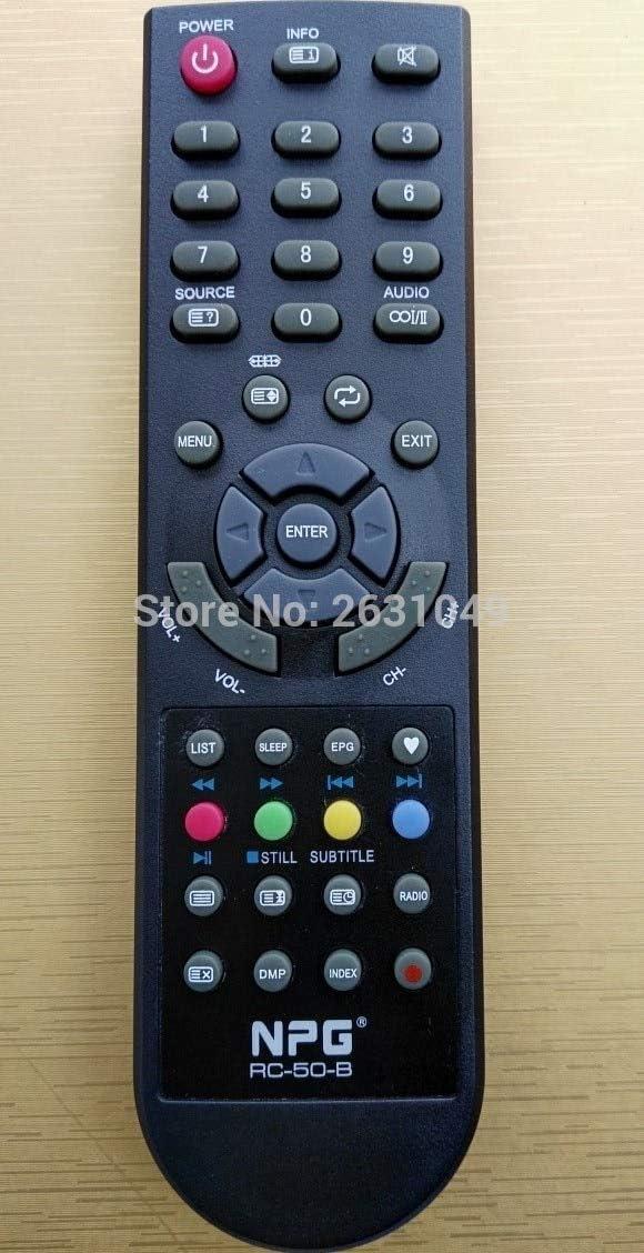Calvas RC-50-B NPG - Mando a distancia LED para televisor NL 2212 HFB, NLD-3232HHHB, NL1910SHB NL2210HFB, NL-3216HHBS: Amazon.es: Bricolaje y herramientas