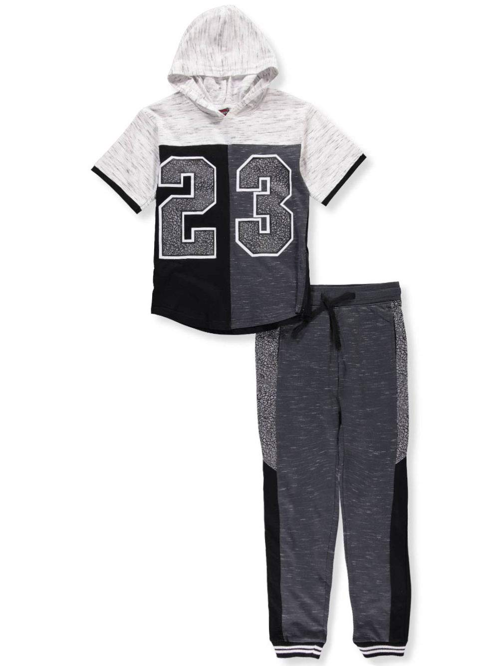 Quad Seven Boys' 2-Piece Pants Set Outfit