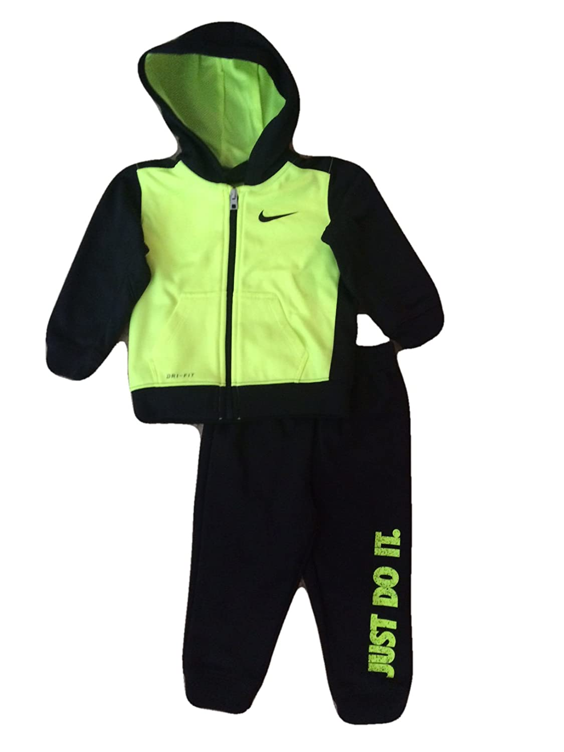b79425592c00 This Nike baby sweatsuit is made of Nike Therma fabric which helps manage  the bodies natural heat. Made by Nike an eco-friendly member of the USA ...