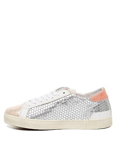 a4084e7824a9 D.a.t.e. Hill Low Pong Damen Sneaker 40 Silber  Amazon.de  Schuhe ...