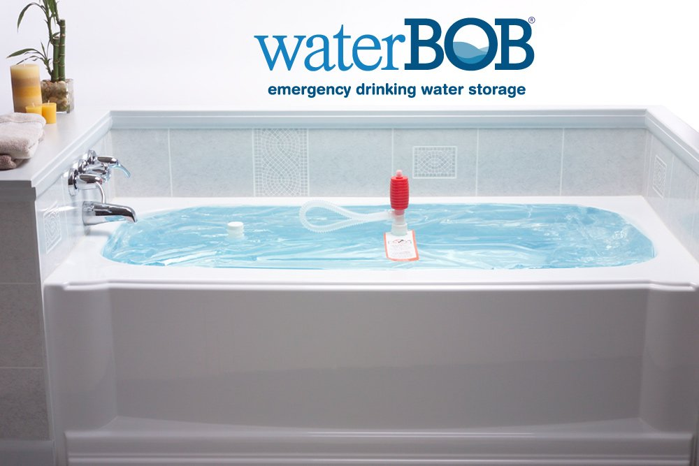 WaterBOB Emergency Drinking Water Storage | Be Safe During Disasters ...